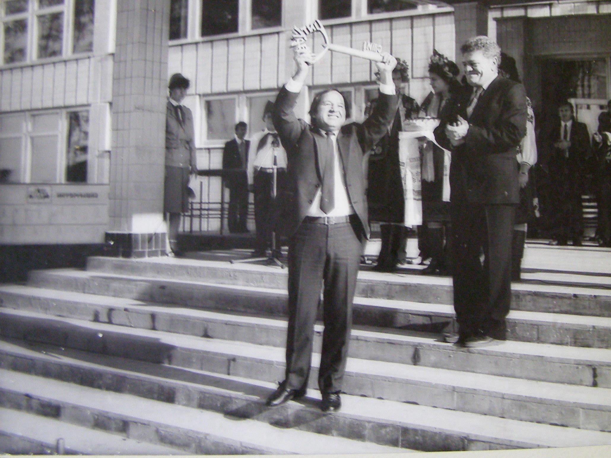 Валерій Янковський, перший директор школи