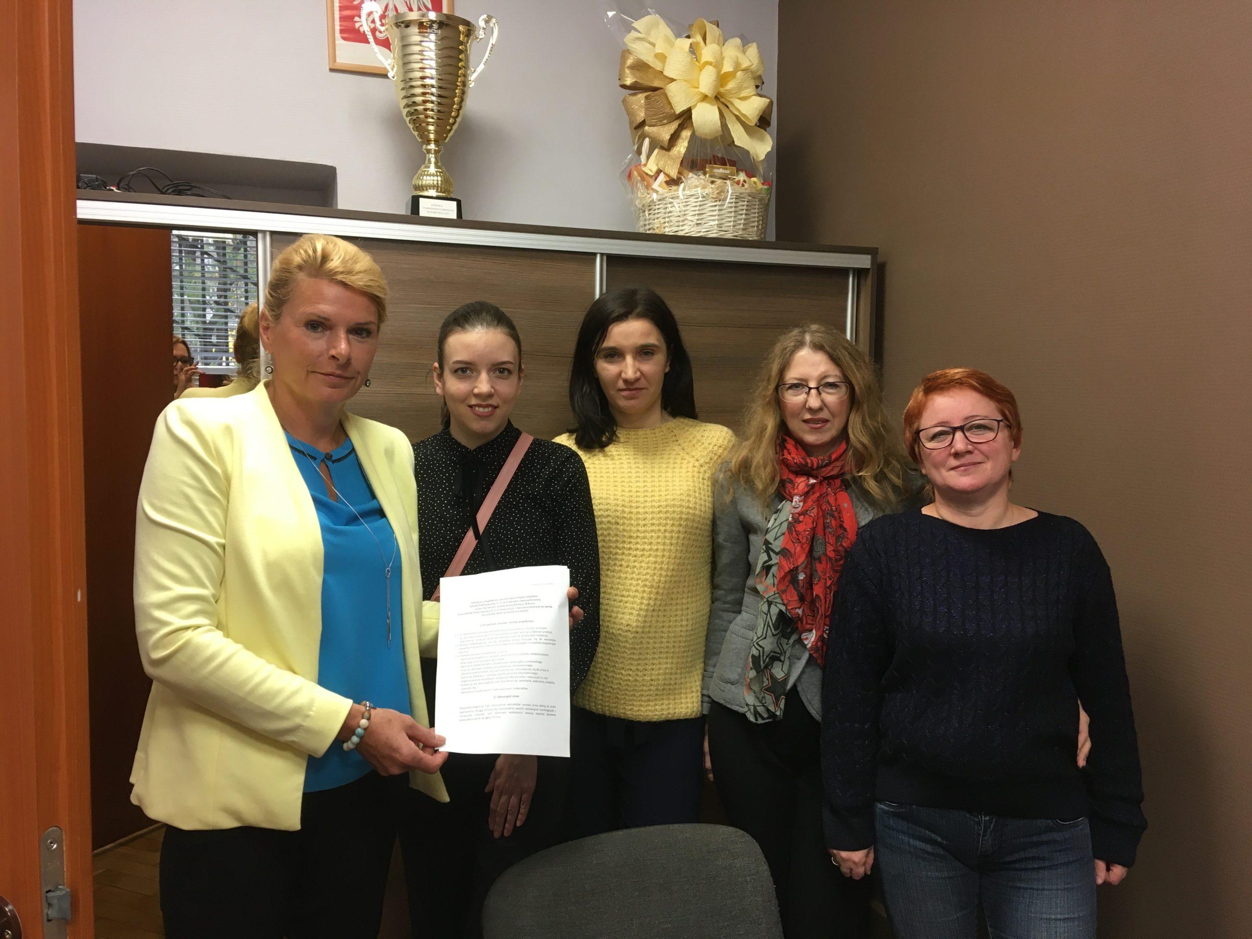 Підписання договору про співпрацю з польськими колегами (2019)